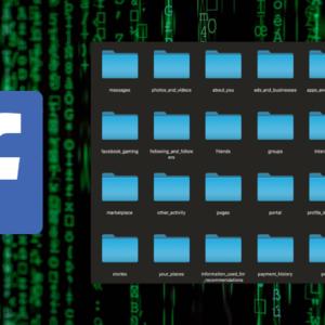 J'ai téléchargé mes données Facebook. Voilà ce que j'ai découvert !