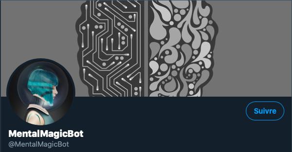 Un Robot Mentaliste sur Twitter